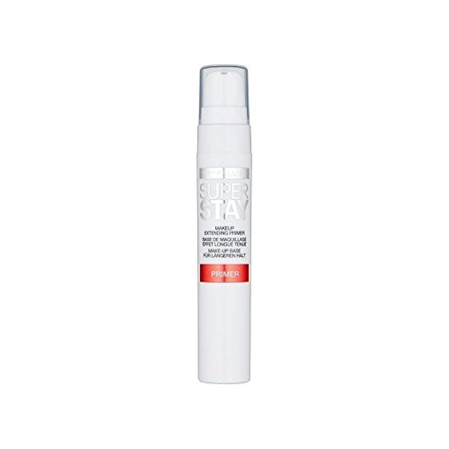有益うそつき毒性メイベリン顔 24とプライマー x4 - Maybelline Face Superstay 24H Primer (Pack of 4) [並行輸入品]