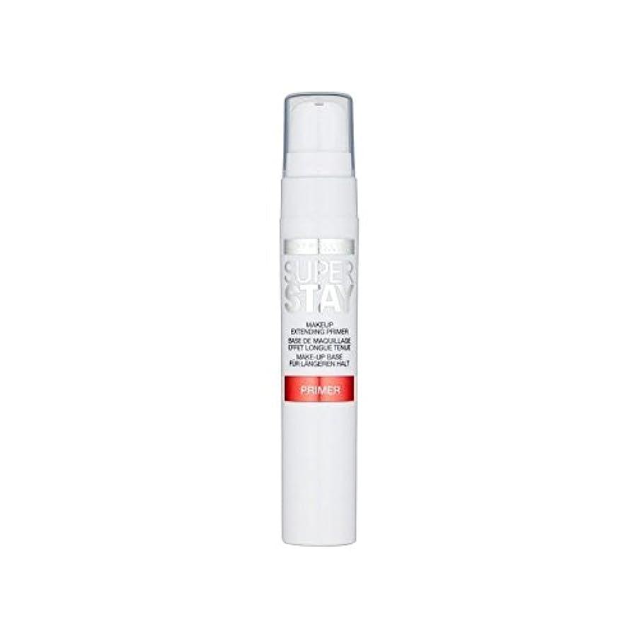 南アメリカチャーミングダッシュメイベリン顔 24とプライマー x4 - Maybelline Face Superstay 24H Primer (Pack of 4) [並行輸入品]