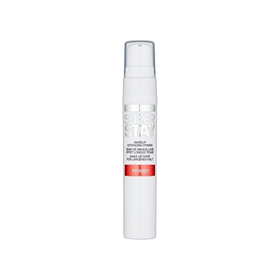 風刺ファンシー暴力的なメイベリン顔 24とプライマー x4 - Maybelline Face Superstay 24H Primer (Pack of 4) [並行輸入品]