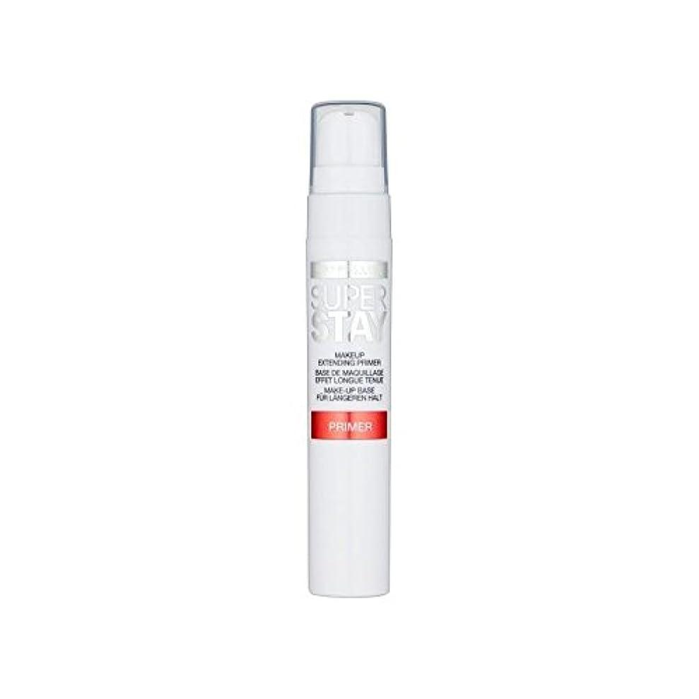 初期ぬるい小間メイベリン顔 24とプライマー x4 - Maybelline Face Superstay 24H Primer (Pack of 4) [並行輸入品]