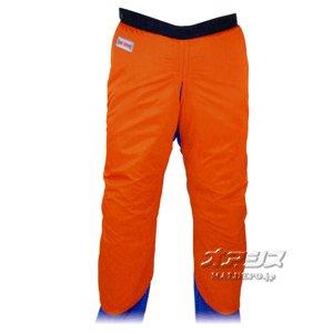 チェンソー 作業用防護衣 チャップス MT565 オレンジ L