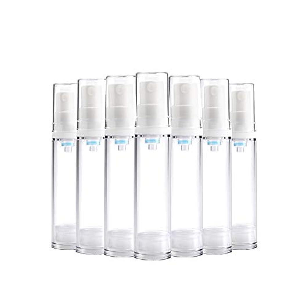 ピニオン最初にクラッシュ6 PCS熱望透明プラスチックエアロゾルスプレーボトルエアレスポンプスプレーボトル 詰め替えファインミストエアレススプレー(15ml 30ml) BPAフリー - 30 ml