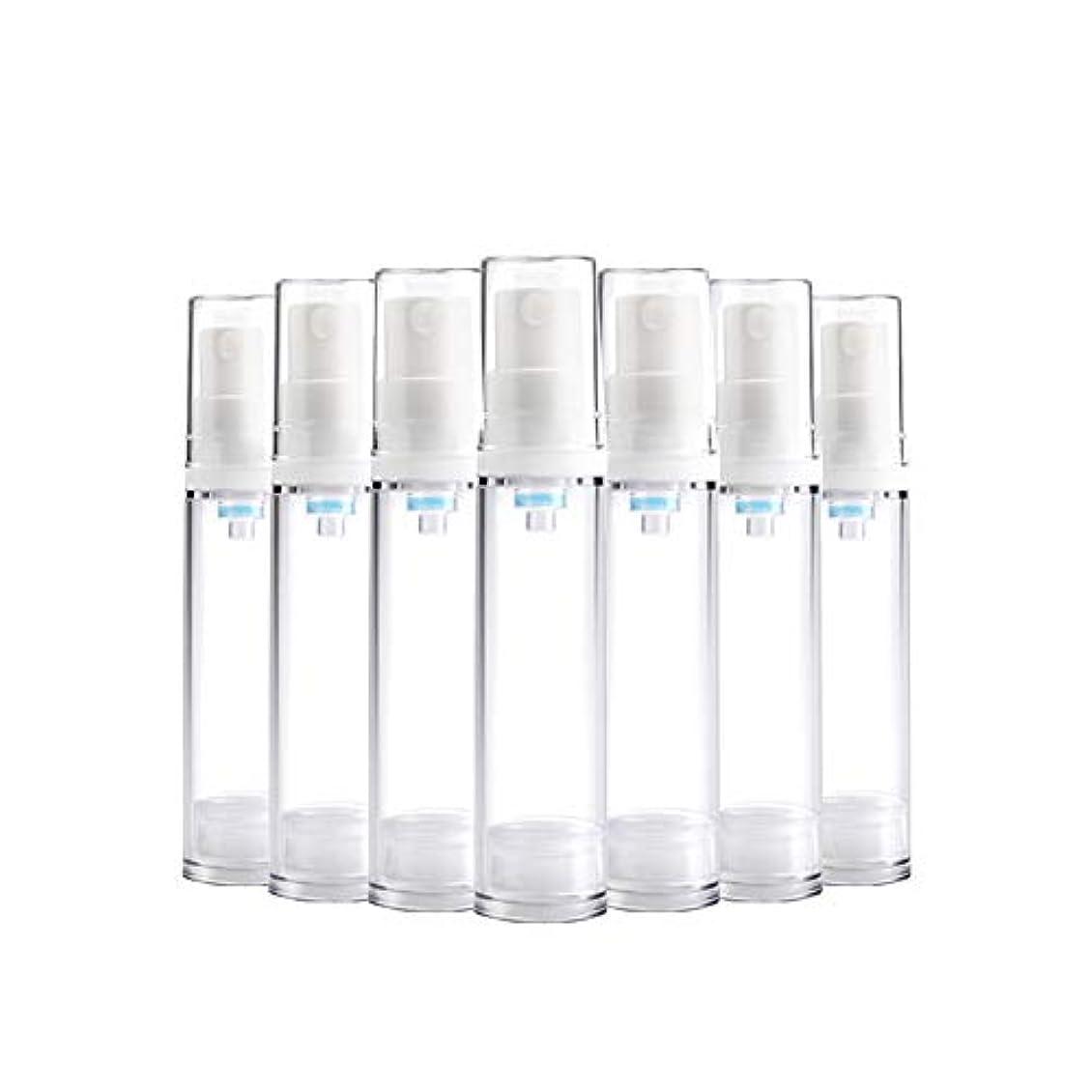 嘆く運河プレゼンター6 PCS熱望透明プラスチックエアロゾルスプレーボトルエアレスポンプスプレーボトル 詰め替えファインミストエアレススプレー(15ml 30ml) BPAフリー - 30 ml