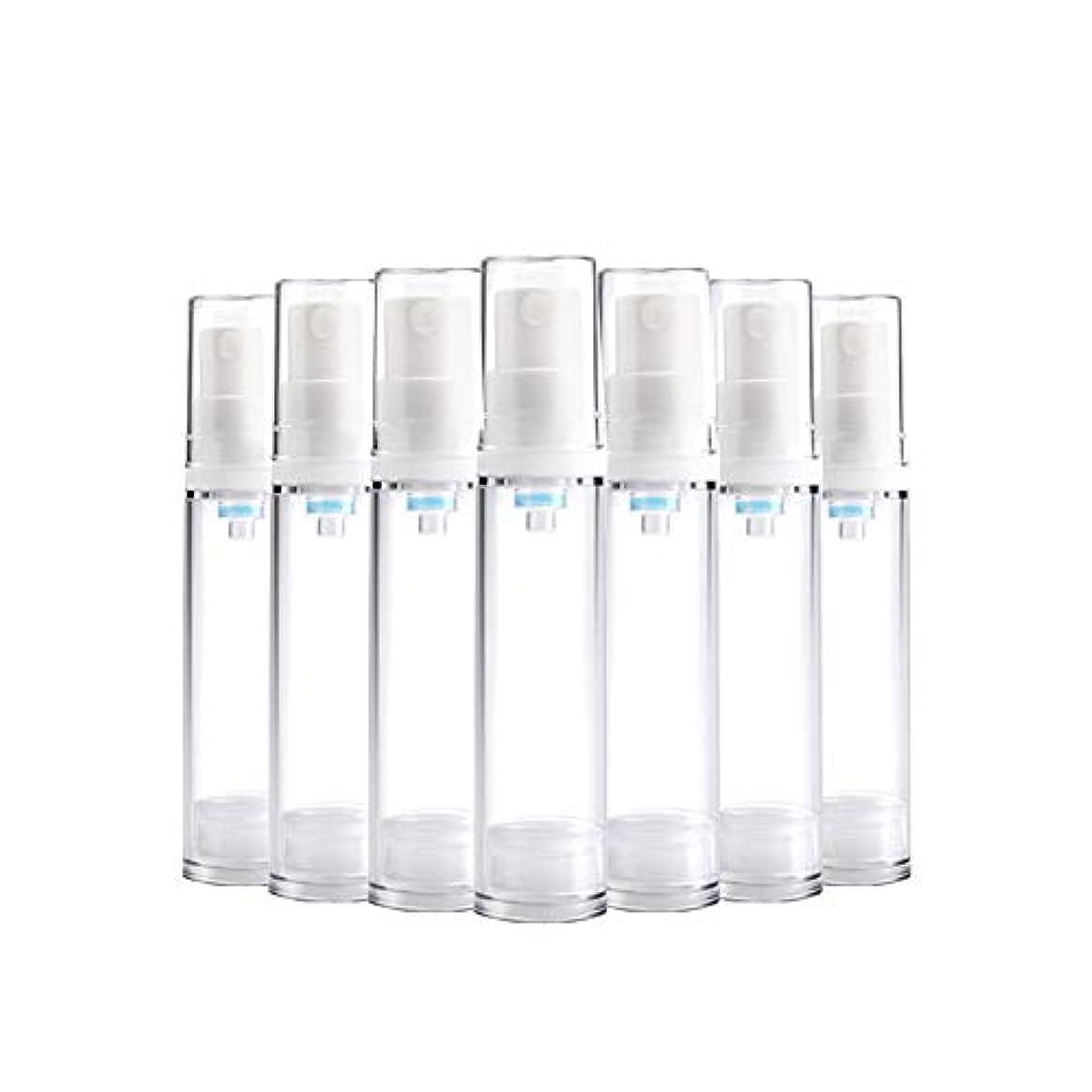無駄言及する出血6 PCS Aspireトランスペアレントプラスチックエアロゾルスプレーボトルエアレスポンプスプレーボトル 詰め替え可能なファインミストエアレススプレー(15ml 30ml) - 30 ml