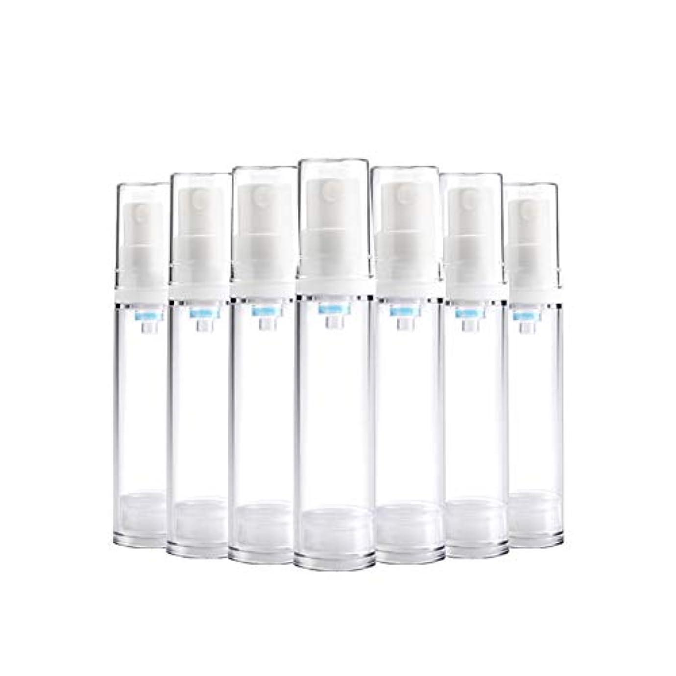 指導するマーチャンダイザー自宅で6 PCS Aspireトランスペアレントプラスチックエアロゾルスプレーボトルエアレスポンプスプレーボトル 詰め替え可能なファインミストエアレススプレー(15ml 30ml) - 30 ml
