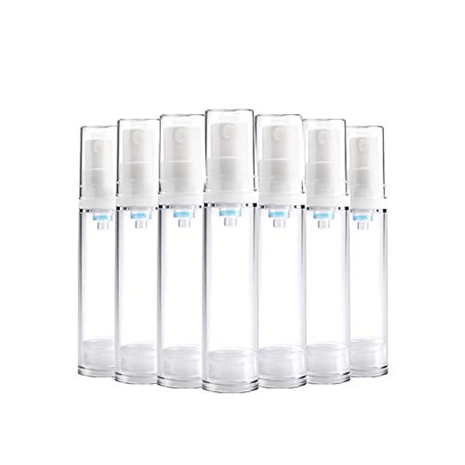 レーニン主義かもしれない日光6 PCS Aspireトランスペアレントプラスチックエアロゾルスプレーボトルエアレスポンプスプレーボトル 詰め替え可能なファインミストエアレススプレー(15ml 30ml) - 30 ml