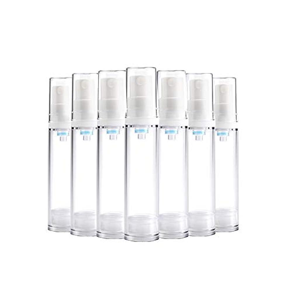 賞賛目覚めるピアース6 PCS Aspireトランスペアレントプラスチックエアロゾルスプレーボトルエアレスポンプスプレーボトル 詰め替え可能なファインミストエアレススプレー(15ml 30ml) - 30 ml