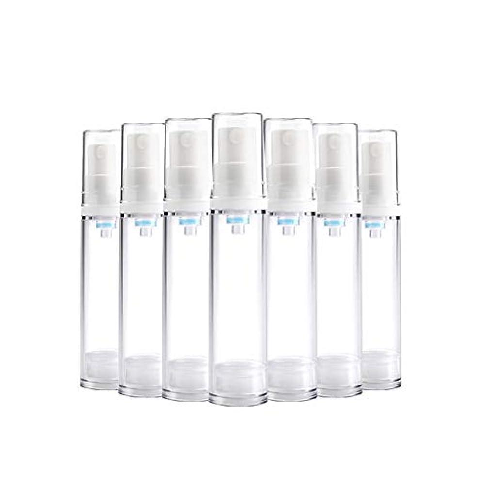 出発パイ意味する6 PCS Aspireトランスペアレントプラスチックエアロゾルスプレーボトルエアレスポンプスプレーボトル 詰め替え可能なファインミストエアレススプレー(15ml 30ml) - 30 ml