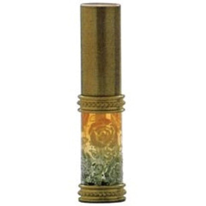 鼓舞する最初に視聴者ヒロセアトマイザー ラメ 薔薇 ガラスアトマイザー 16121 GD (メタルラメバラ ゴールド)