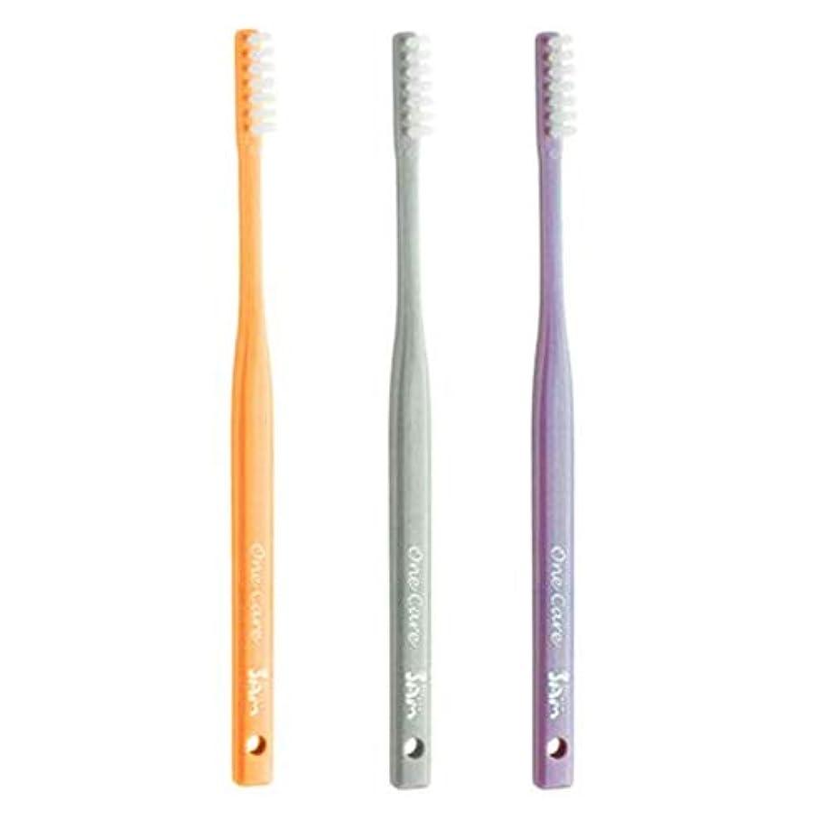 スラッシュどうやって同じサムフレンド 1列 歯ブラシ ワンケア OneCare 5本(アソート)