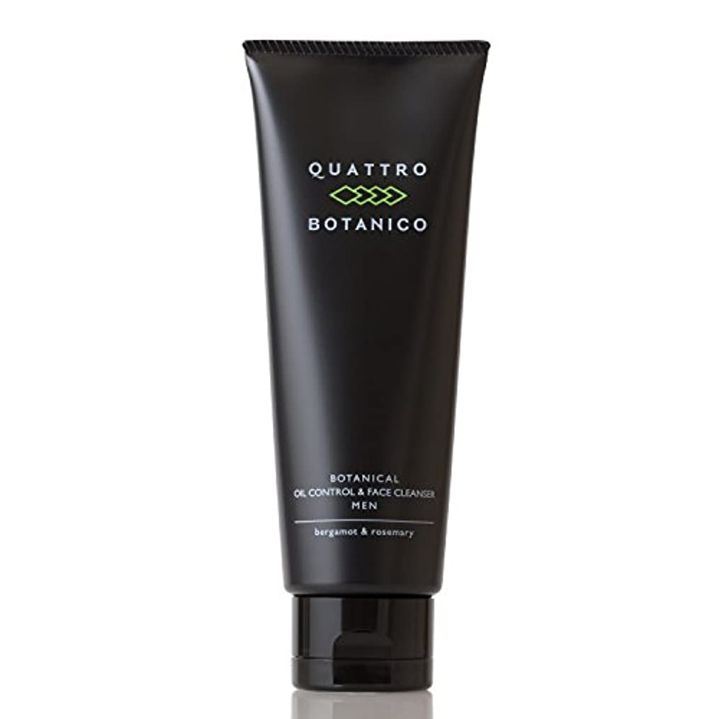 スタウト謎めいた励起クワトロボタニコ (QUATTRO BOTANICO) 【 メンズ 洗顔 】 ボタニカル オイルコントロール & フェイスクレンザー (男性 スキンケア) 男性用 洗顔クリーム 男 皮脂 テカリ