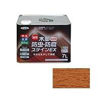 アサヒペン AP 油性木部防虫防腐ステインEX 7L ライトオーク