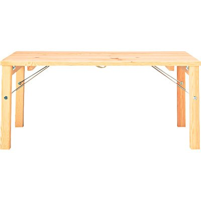 RoomClip商品情報 - 無印良品 パイン材ローテーブル・折りたたみ式 幅80×奥行50×高さ35cm