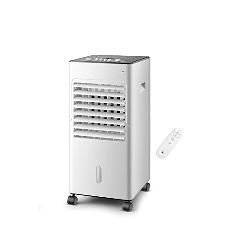 現代中庭フロンティアLPD-冷風機 ポータブル蒸発エアコンタワーコールドエアクーラーファンモバイルエアコンタイミングリモコンマイナスイオン精製12H