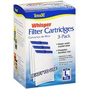 Tetra Whisper Large Aquarium Filter Cartridge 3pk by Tetra Whisper