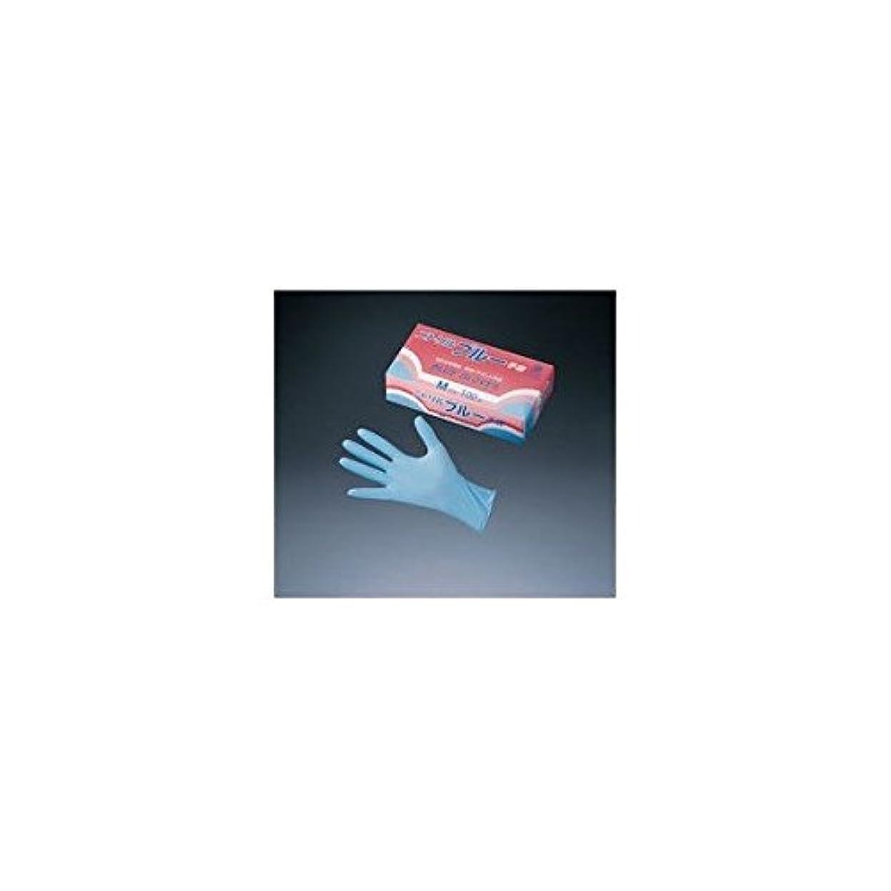 きちんとした磨かれた悪行旭創業 ニトリルグローブ ブルー (100枚セット) M