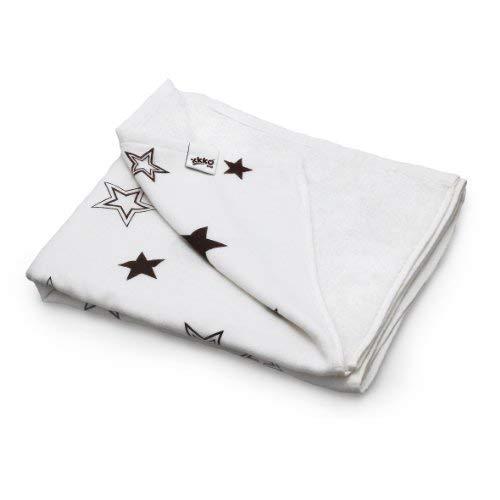 XKKO - 布製おむつ、3枚、70 x 70 cm、ブラウン(ブラウン) [並行輸入品]