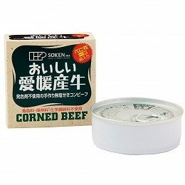 創健社 愛媛の無塩せきコンビーフ 80g ×6セット