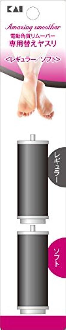 マサッチョ有害なナラーバー電動角質リムーバー Amazingsmoother リフィル レギュラー&ソフト 各1個入