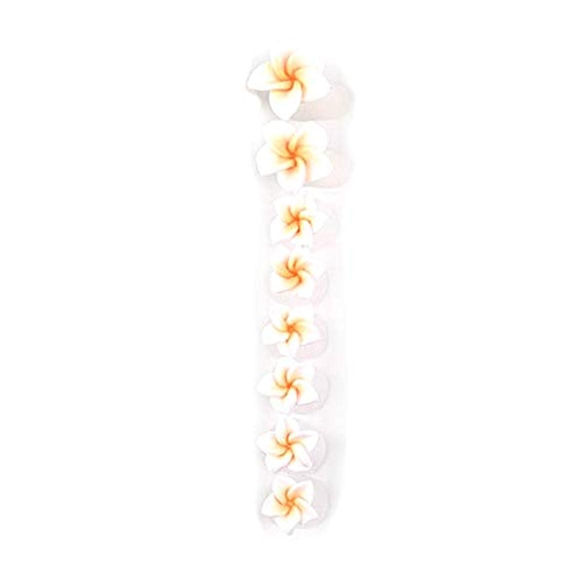 ピン居間運動8ピース/セットシリコンつま先セパレーター足つま先スペーサー花形ペディキュアDIYネイルアートツール-カラフル01#