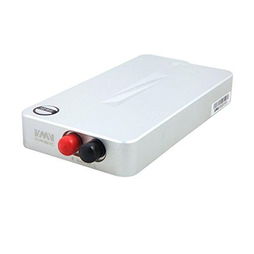 VMV MAGIC 高品質 ステレオ オーディオデコーダ DACオーディオデコーダ ヘッドフォンアンプ内蔵 USBケープル 拭き布付き