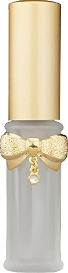 考慮バイアスかなりの22201 グラスアトマイザーリボンダイヤゴールド