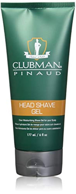 貫通する添付ロケットCLUBMAN Head Shave Gel (並行輸入品)