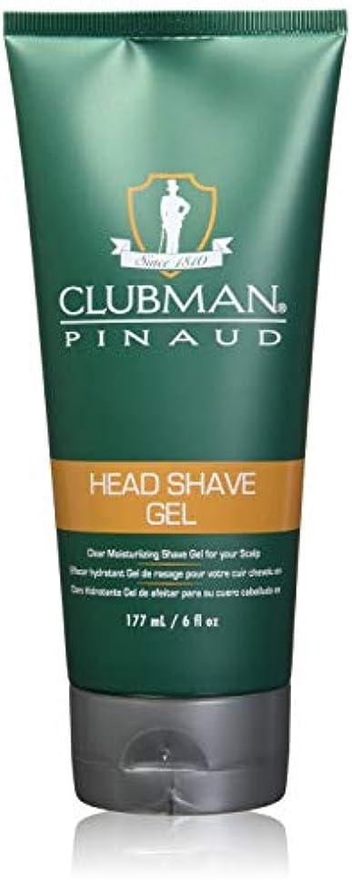 プロフィールシャンプーキャンドルCLUBMAN Head Shave Gel (並行輸入品)