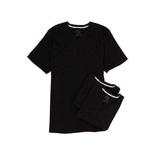 (ジョッキー) Jockey メンズ トップス 半袖シャツ Tシャツ Cotton Slim Fit V-Neck Neck T-Shirt 3-Pack 並行輸入品
