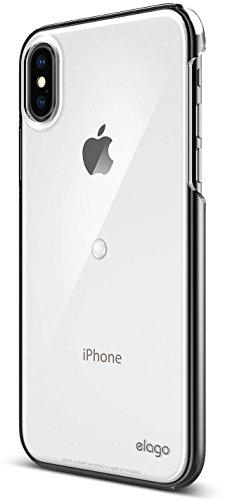 iPhone X ケース elago Smart Spinner [ iPhoneがスピナーに大変身 !? まるで ハンドスピナー !? ] おもしろ デザイン カバー [ iPhoneX ケース (10) 専用 ] クリア