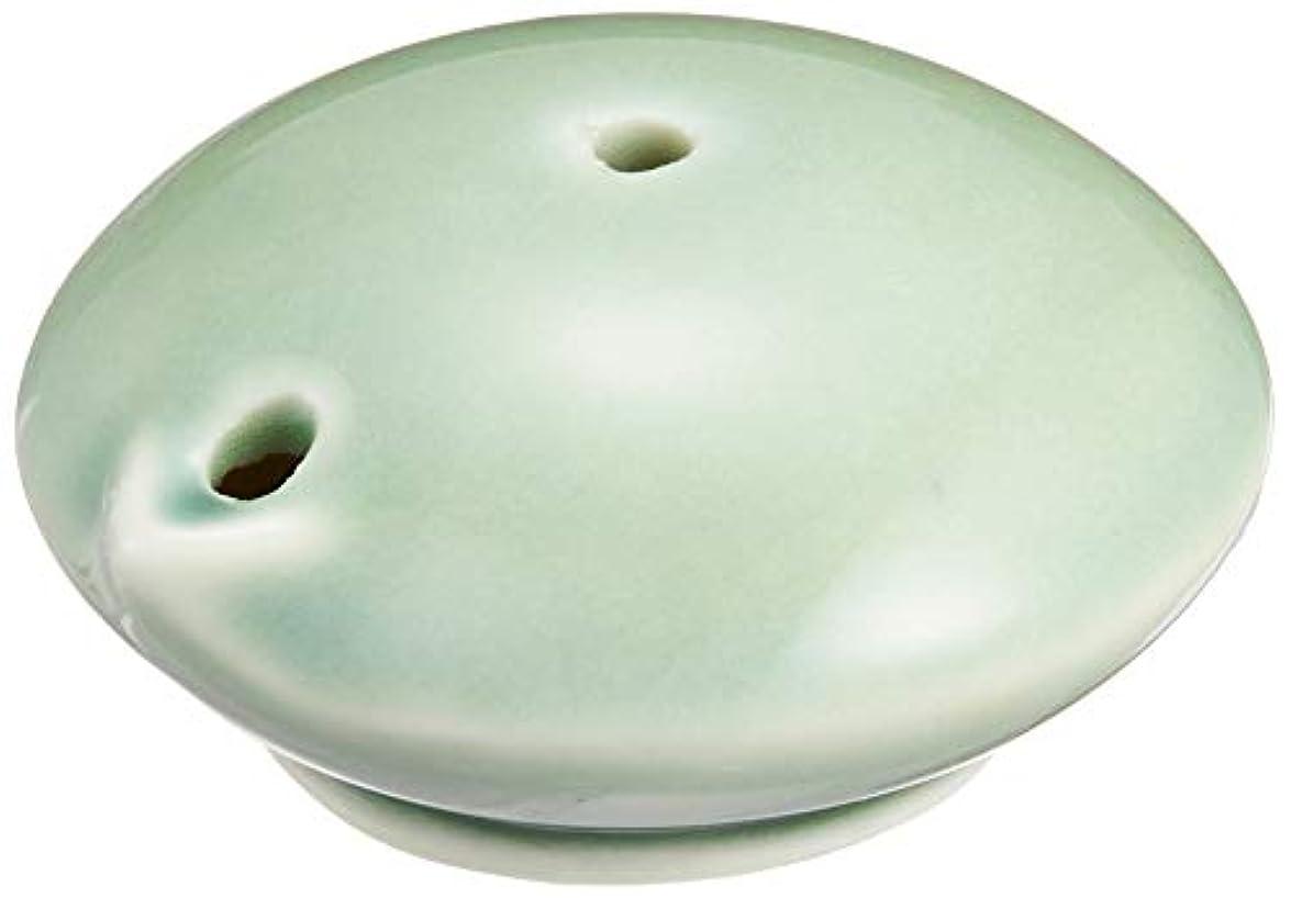 見物人粗いボウリング墨運堂 水滴 カラー水滴 陶器 青磁 26137