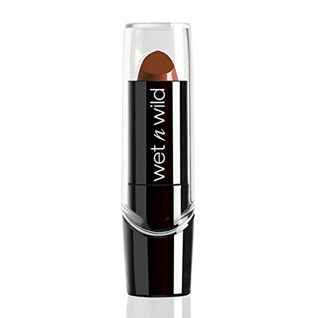 決して比喩正確にWET N WILD Silk Finish Lipstick - Mink Brown (並行輸入品)