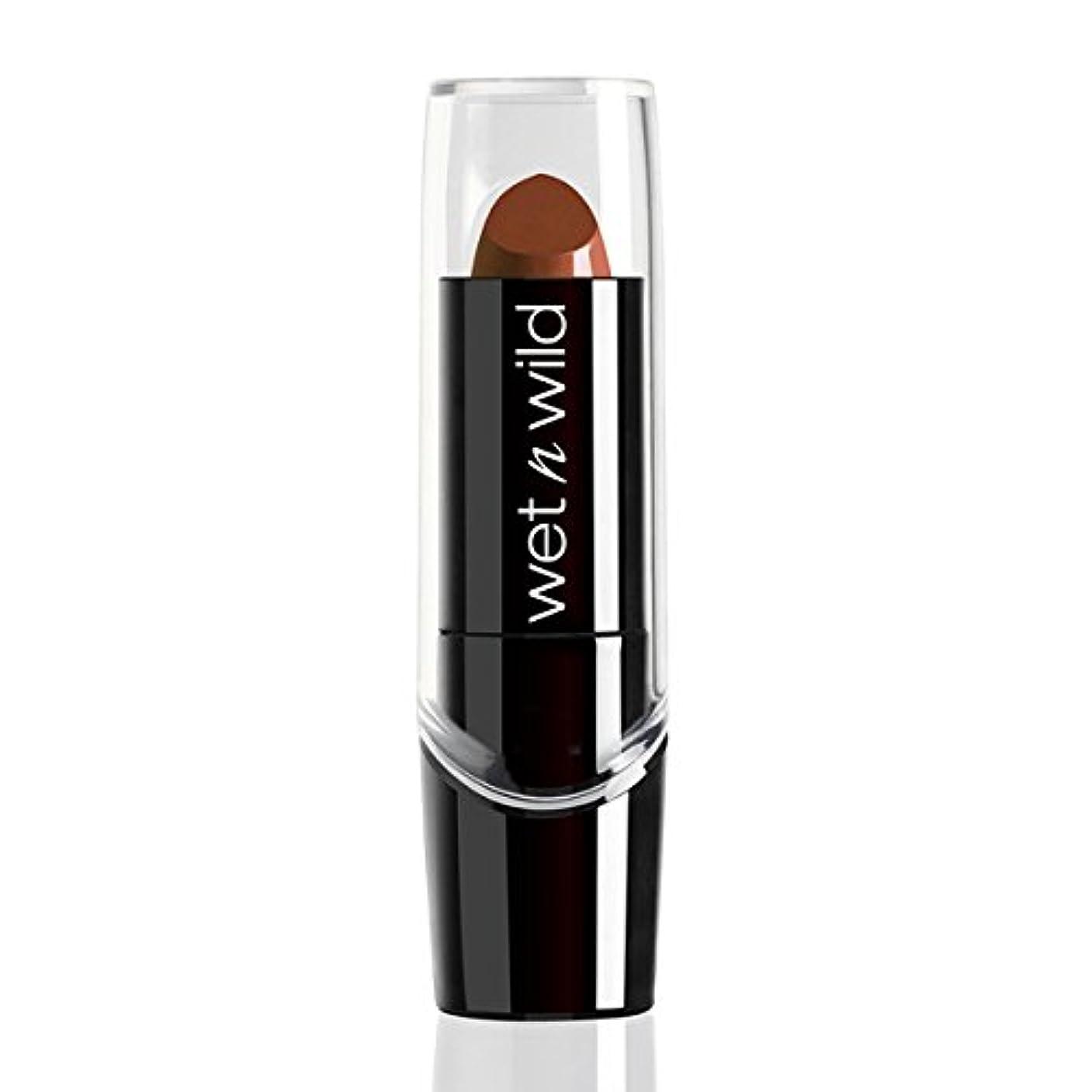 ドルゆりかご程度WET N WILD Silk Finish Lipstick - Mink Brown (並行輸入品)