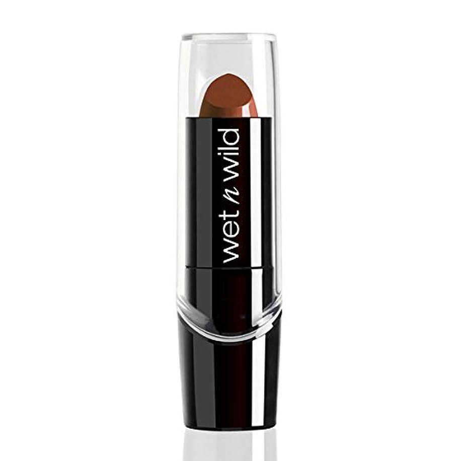 先駆者売るレタッチWET N WILD Silk Finish Lipstick - Mink Brown (並行輸入品)
