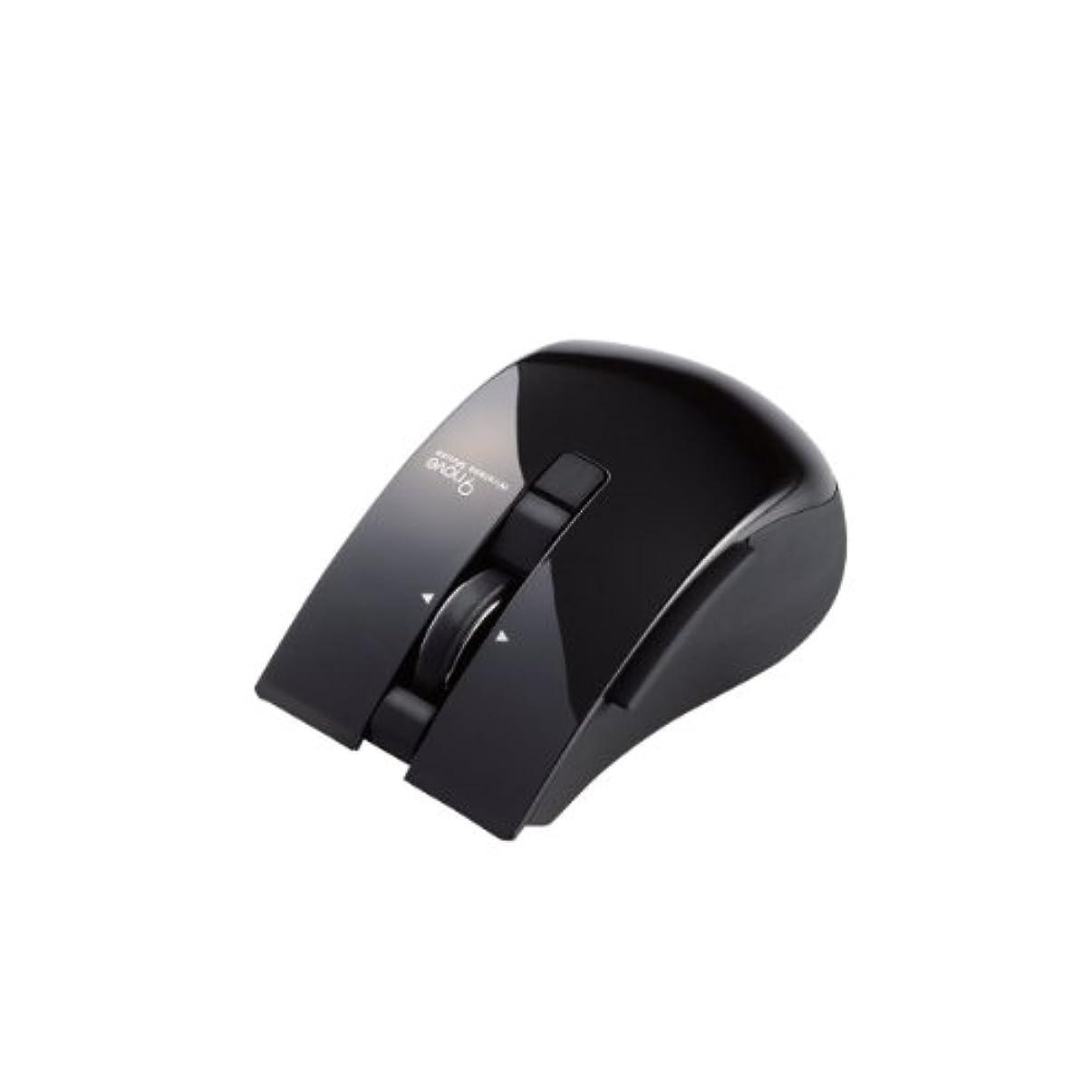 粉砕する接尾辞無視する【2013年モデル】ELECOM Bluetooth3.0マウス 5ボタン 9台切替 IR ブラック M-NV1BRBK