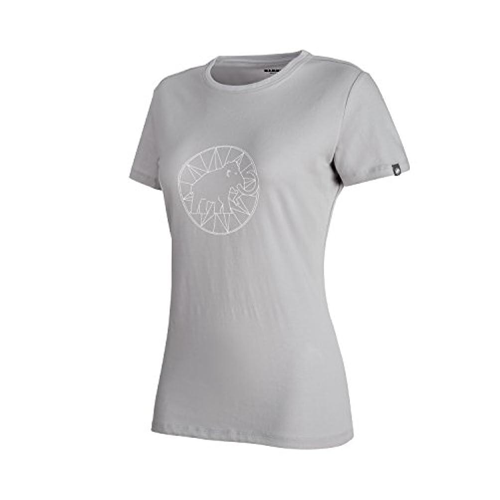 呪われた元気な獲物[マムート] レディース トップス ロゴ Tシャツ マーブル-ホワイト 1041-06541 00109