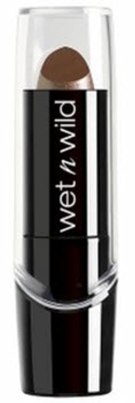 矛盾寄託できるWET N WILD Silk Finish Lipstick - Mink Brown (並行輸入品)
