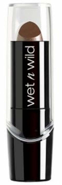 お客様ペデスタル人差し指WET N WILD Silk Finish Lipstick - Mink Brown (並行輸入品)