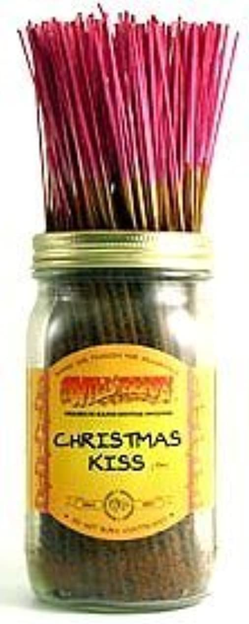 夜間不健全インシュレータChristmas Kiss - 100 Wildberry Incense Sticks [並行輸入品]