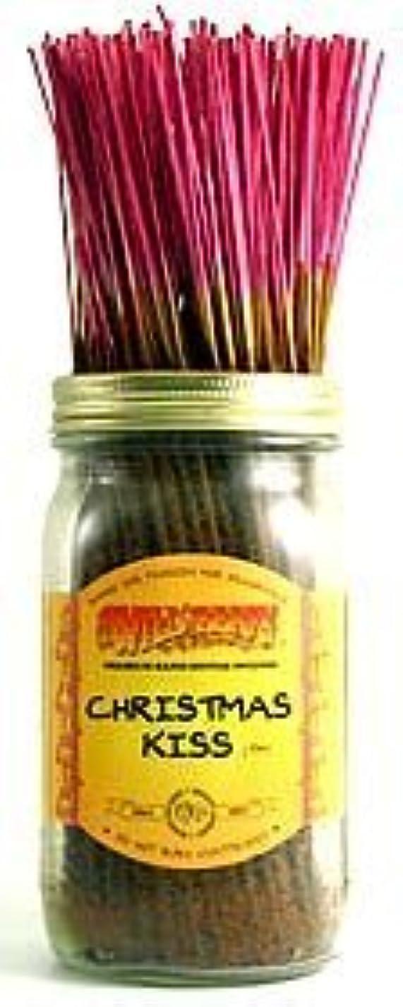 健康的潮略語Christmas Kiss - 100 Wildberry Incense Sticks [並行輸入品]