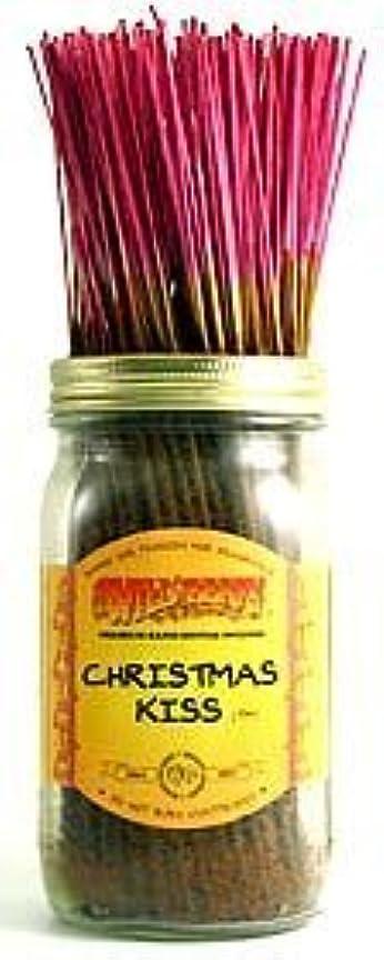 ブースト紀元前事業内容Christmas Kiss - 100 Wildberry Incense Sticks [並行輸入品]