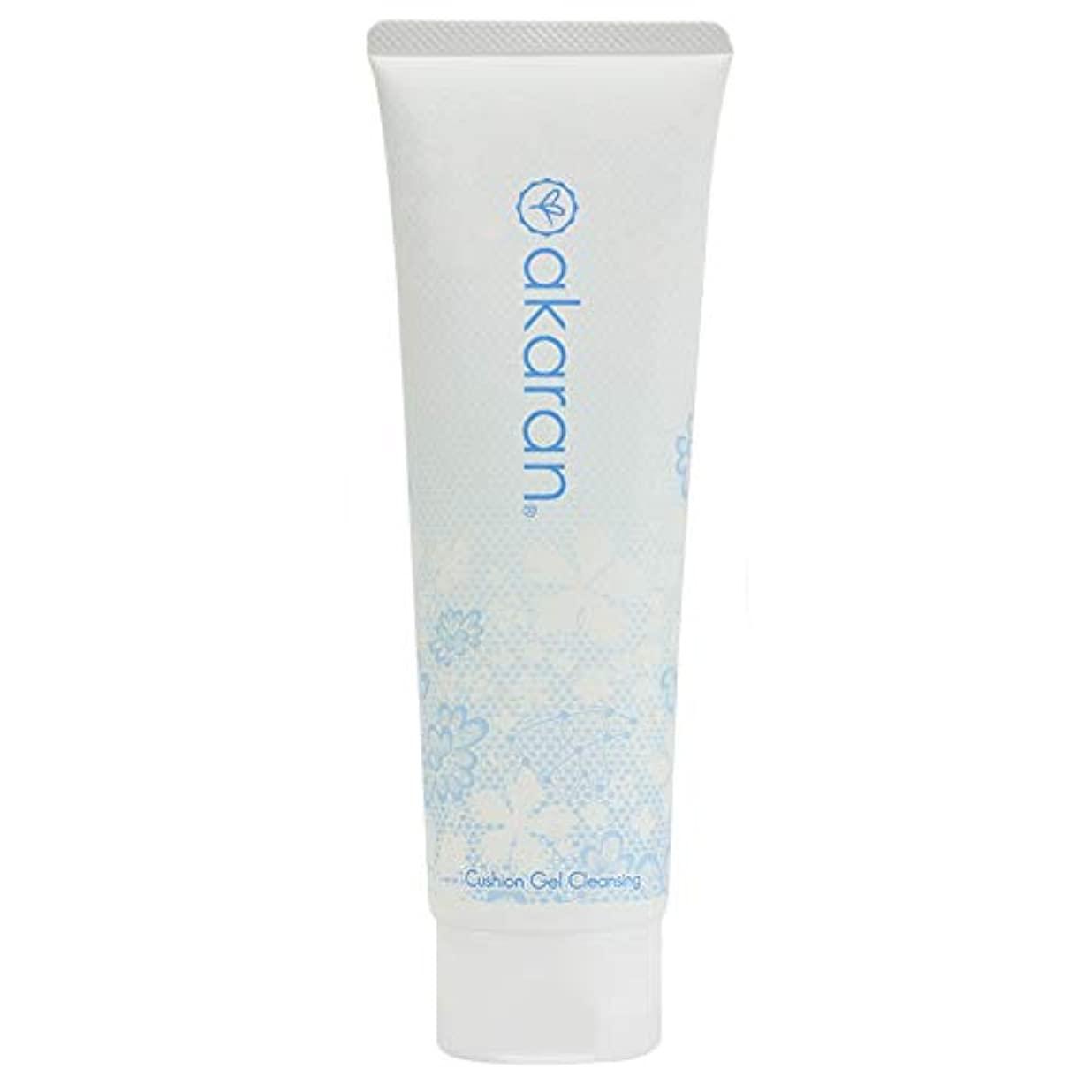 アカラン クッションジェルクレンジング 150g 乾燥肌 敏感肌 無添加 W洗顔不要 毛穴黒ずみ除去 オイルフリー