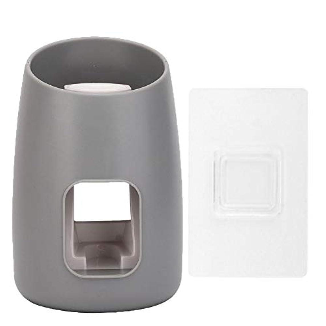 昼寝山積みの傾斜自動歯磨き粉スクイーザーキッズハンズフリー歯磨き粉ディスペンスがシャワーバスルームの壁に取り付けられています(pink)