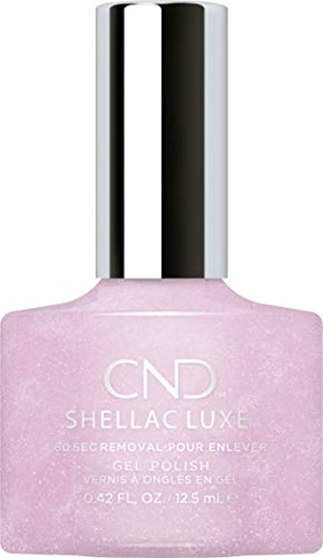 記者不合格まどろみのあるCND Shellac Luxe - Lavender Lace - 12.5 ml / 0.42 oz