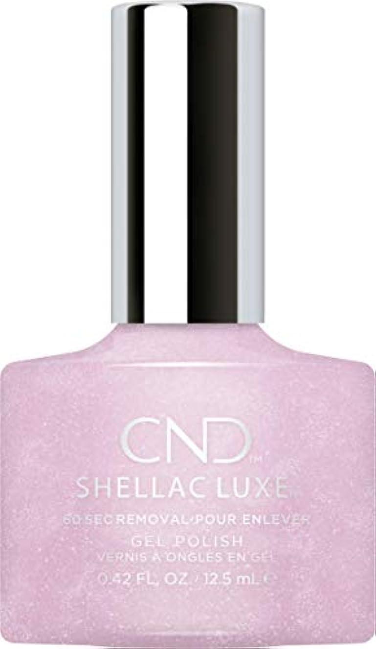 弓王族仕事に行くCND Shellac Luxe - Lavender Lace - 12.5 ml / 0.42 oz