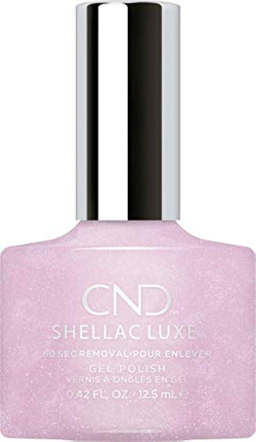 市民ラッチ作物CND Shellac Luxe - Lavender Lace - 12.5 ml / 0.42 oz
