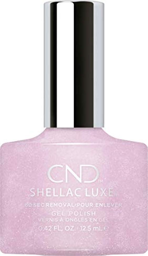 混沌対リア王CND Shellac Luxe - Lavender Lace - 12.5 ml / 0.42 oz