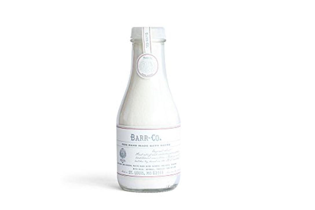 ブロックするサバント雄弁なBARR-CO.(バーコー) バスソルト