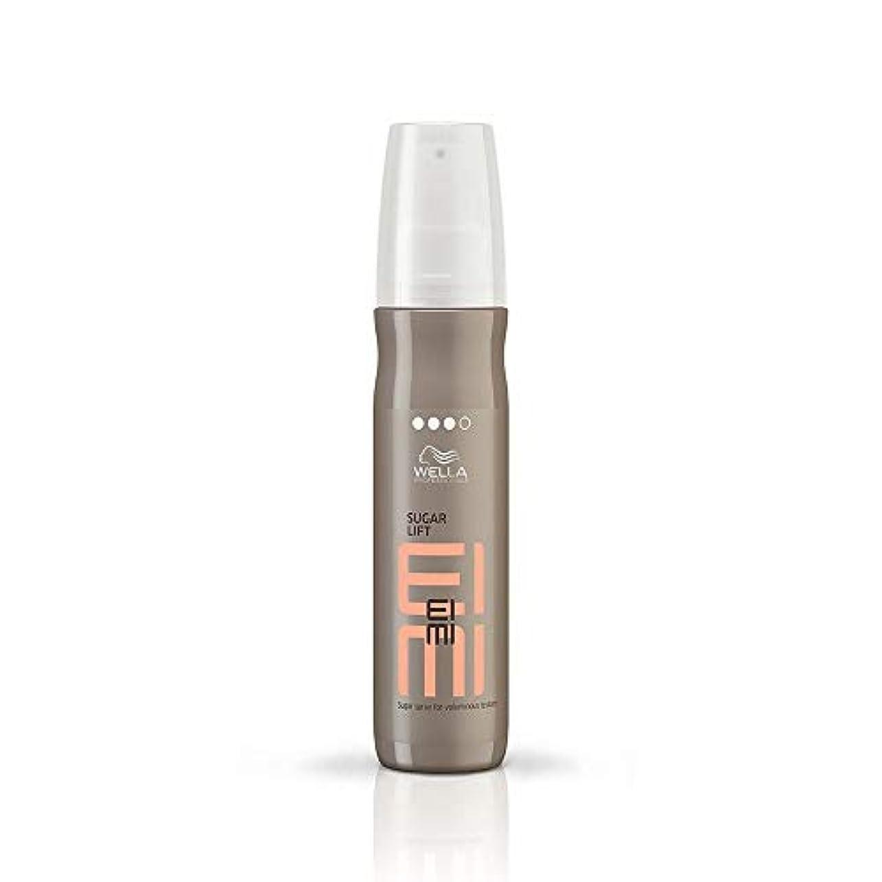 海評価するフィードウエラ シュガー リフト スプレー Wella EIMI Sugar Lift Sugar Spray for Voluminous Texture 150 ml [並行輸入品]
