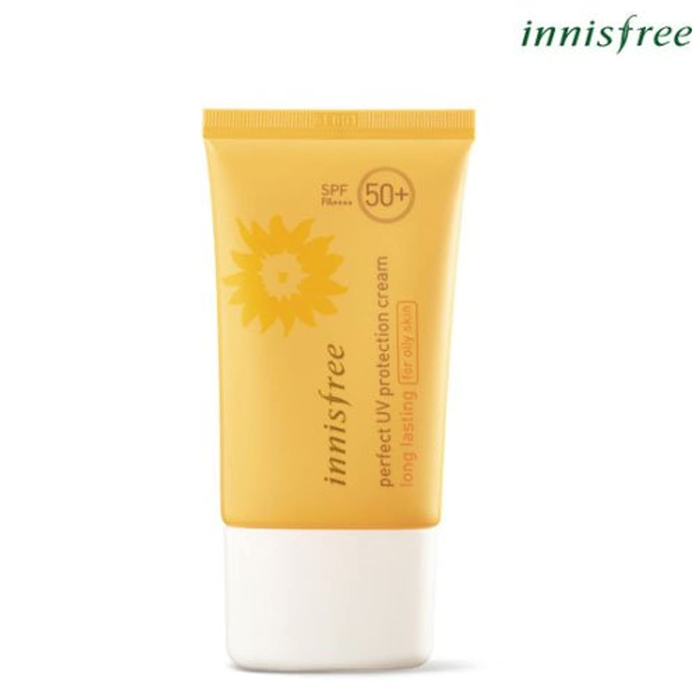新聞セーブハロウィン[INNISFREE]イニスフリーパーフェクト UV プロテクション クリームロングラスティング[オイリー肌のためFOR OILY SKIN]SPF50+ PA++++ 50mL perfect UV protection...